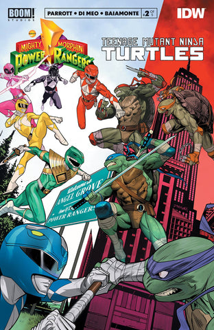 POWER RANGERS TEENAGE MUTANT NINJA TURTLES #2