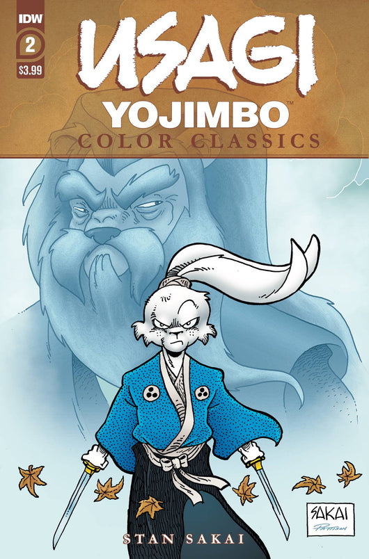 USAGI YOJIMBO COLOR CLASSICS #2 (OF 7)