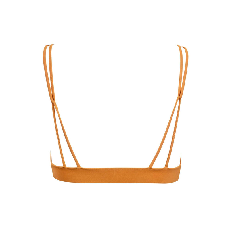 Springs Bikini Top in Pumpkin - the sea collective