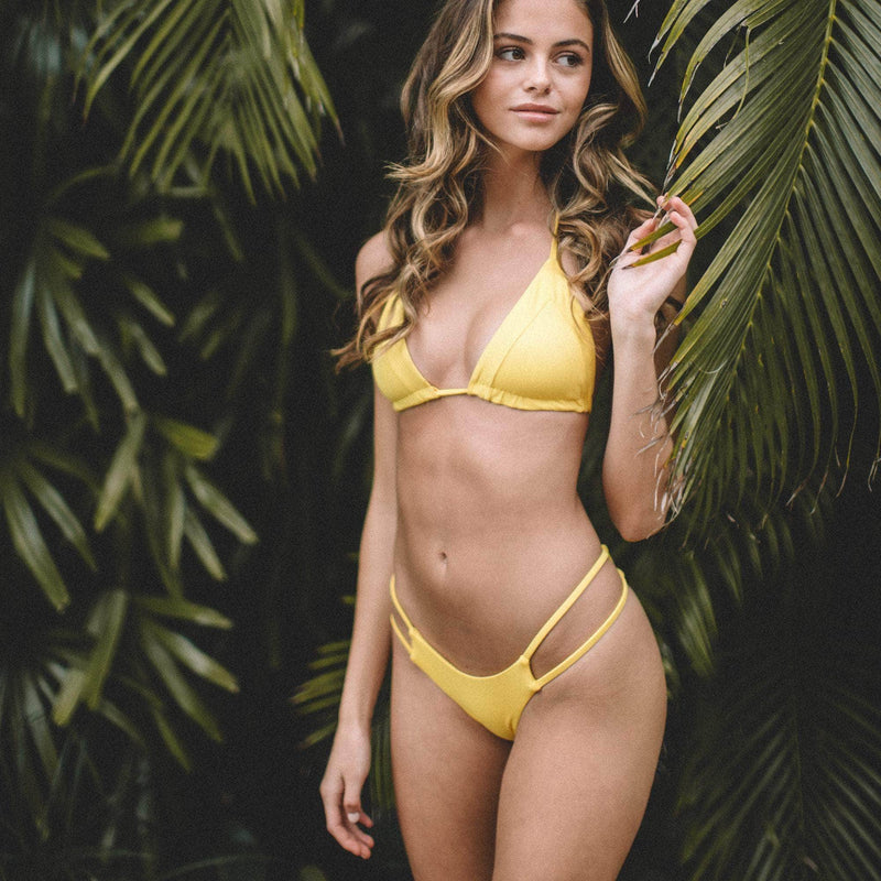 Tingle Bikini Bottom in Banana - the sea collective
