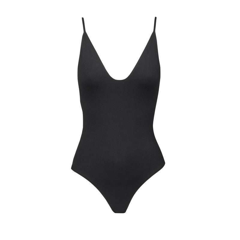 Maze One Piece Swimsuit in Black - the sea collective