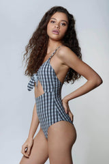 Satu Gingham Bikini - the sea collective