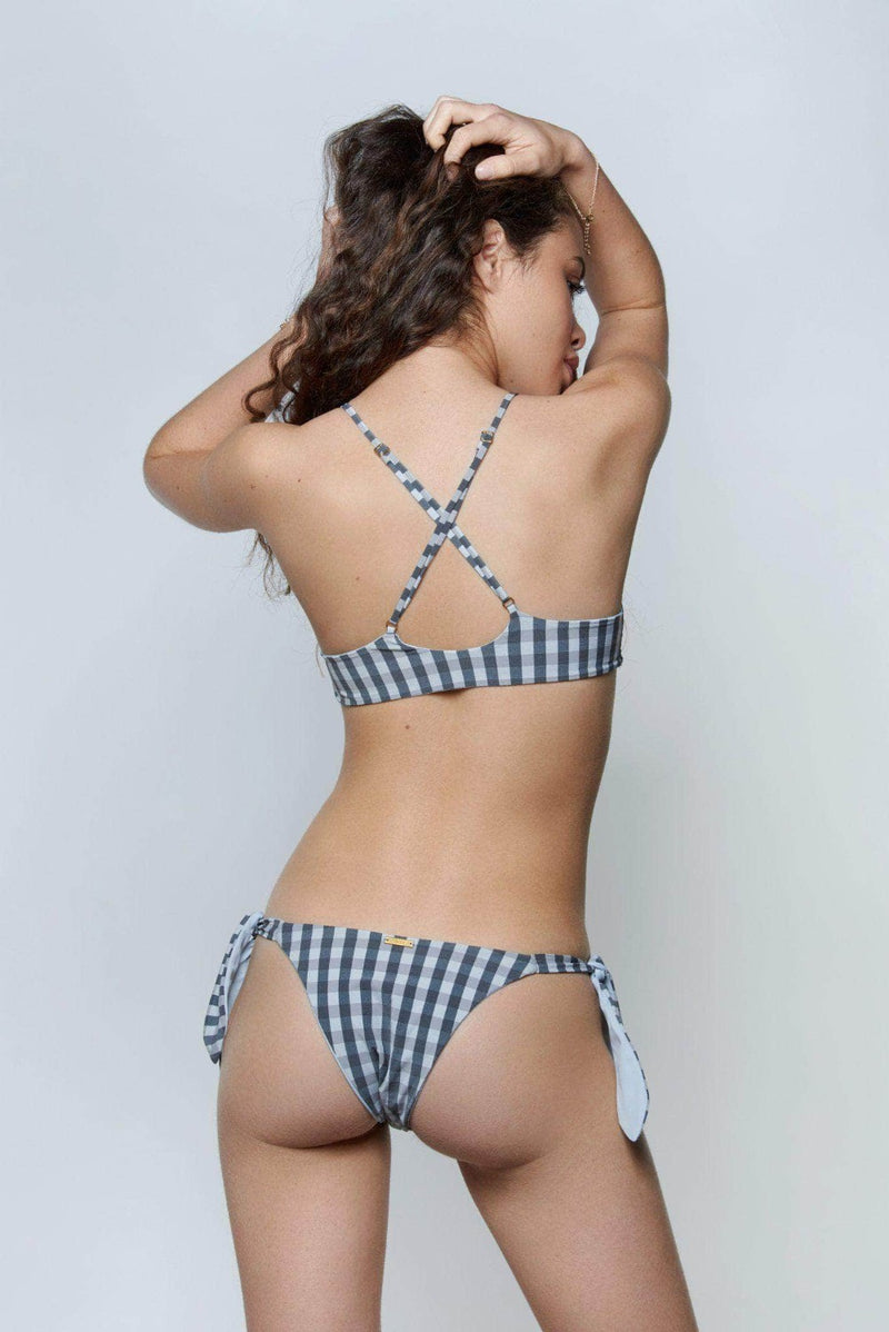 Stella Gingham Bikini - the sea collective