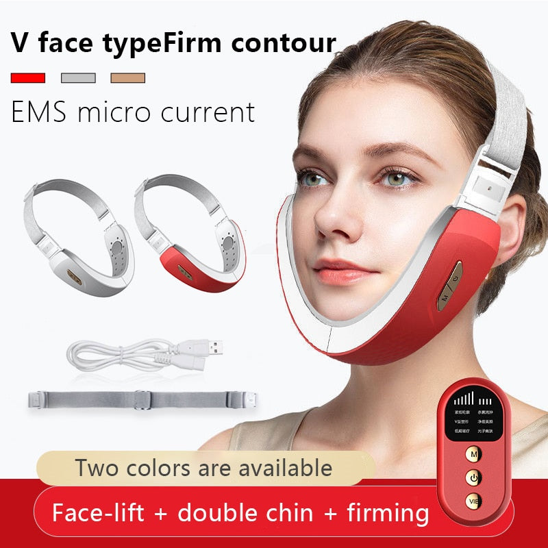 New Ultrasonic Vibration Face Slimming