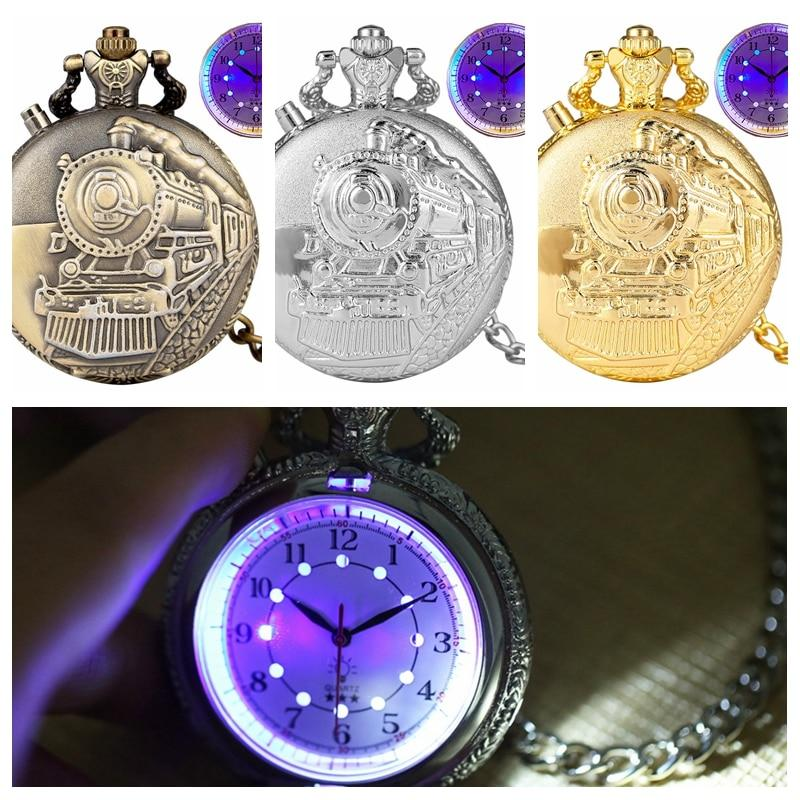 LED Flash Quartz Pocket Watch - PRODSOLVING