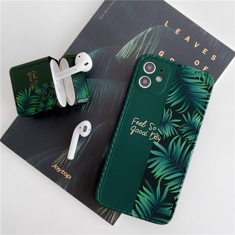 Green Banana Leaf Phone Case