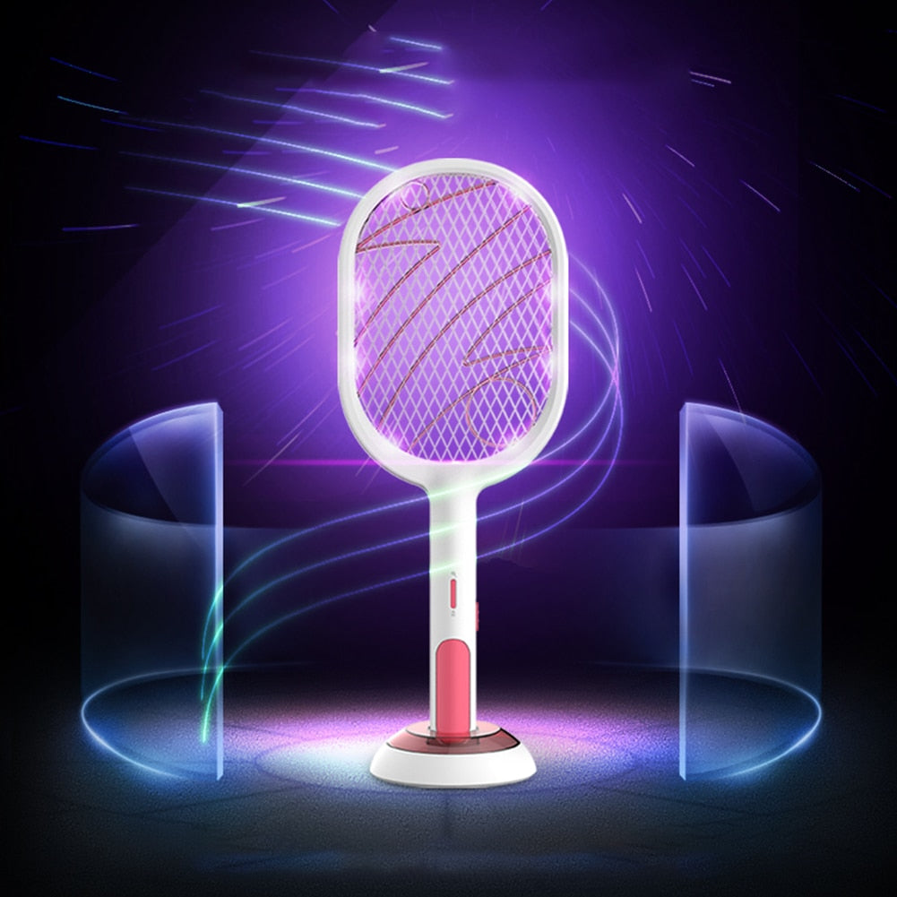 2-IN-1 Mosquito Swatter & Night Lamp