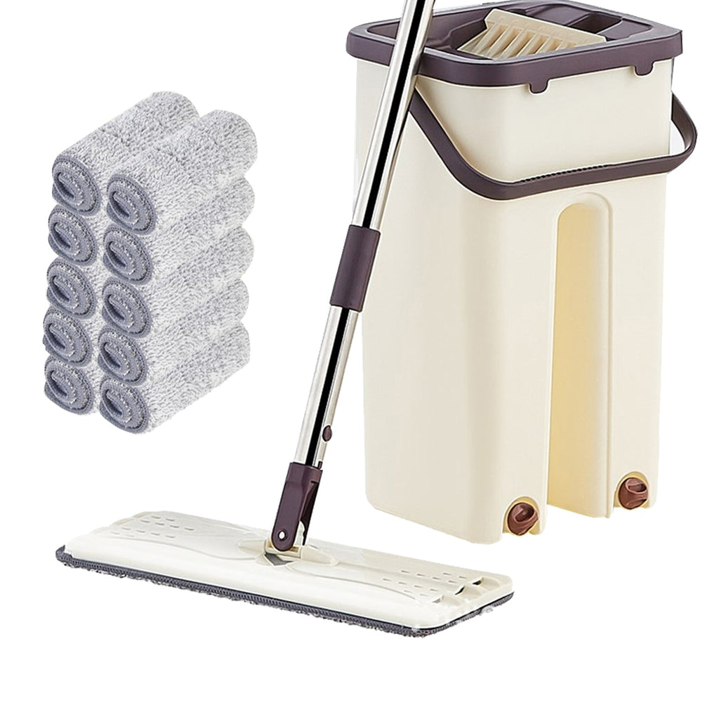 The Magic Mop 4 in 1 Multi-functional Hands-free Floor Automatic Spin Self