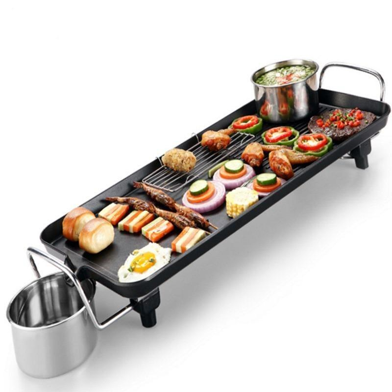 Non-stick Family Barbecue Electric Grill - PRODSOLVING