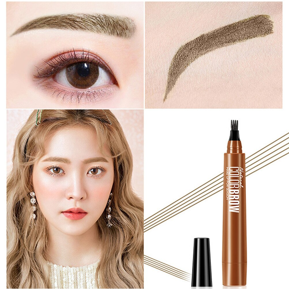 4 Point Eyebrow Pencil Fork Waterproof - PRODSOLVING