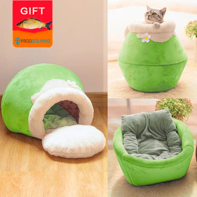3 in 1 Foldable Cat Cushion