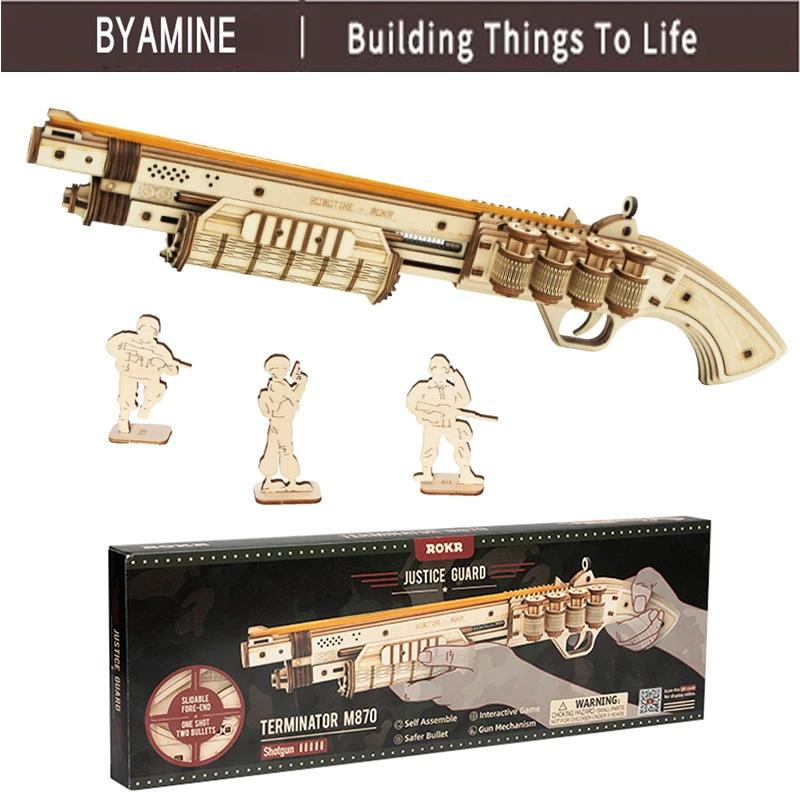 Gun Model Buliding Kit Toys Assembly Games Gift For Children - PRODSOLVING