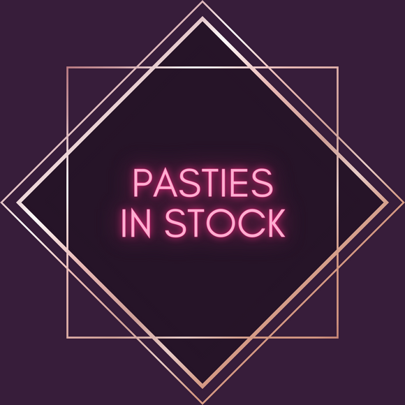 Ready-to-Wear Pasties, In stock and ready to ship!