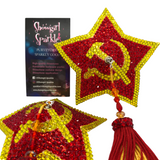 Class Pastie-Making Class - Learn How To Make an Awesome Spinning Pair of Pasties! - Showgirl Sparkle Neons