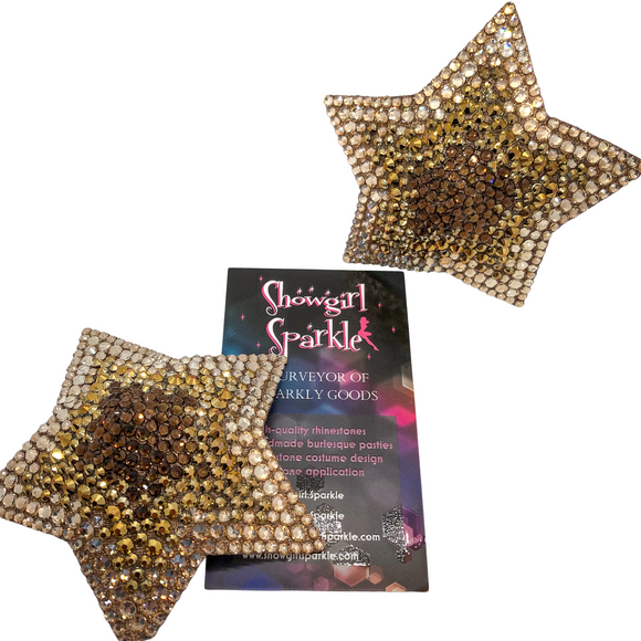 Class Pastie-Making Class - Learn How To Make an Awesome Spinning Pair of Pasties! - Showgirl Sparkle