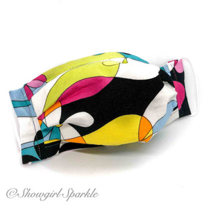 Cloth Mask '60s Vibe Fabric Mask - Showgirl Sparkle