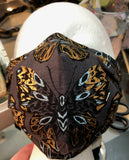 Cloth Mask Made to Order Face Masks - Showgirl Sparkle