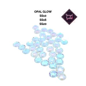 Rhinestones Noctilucent Opal Glow in the Dark Glass Rhinestones - Showgirl Sparkle