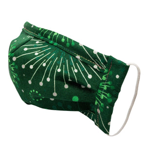 Cloth Mask Vintage Christmas Fabric Mask - Showgirl Sparkle