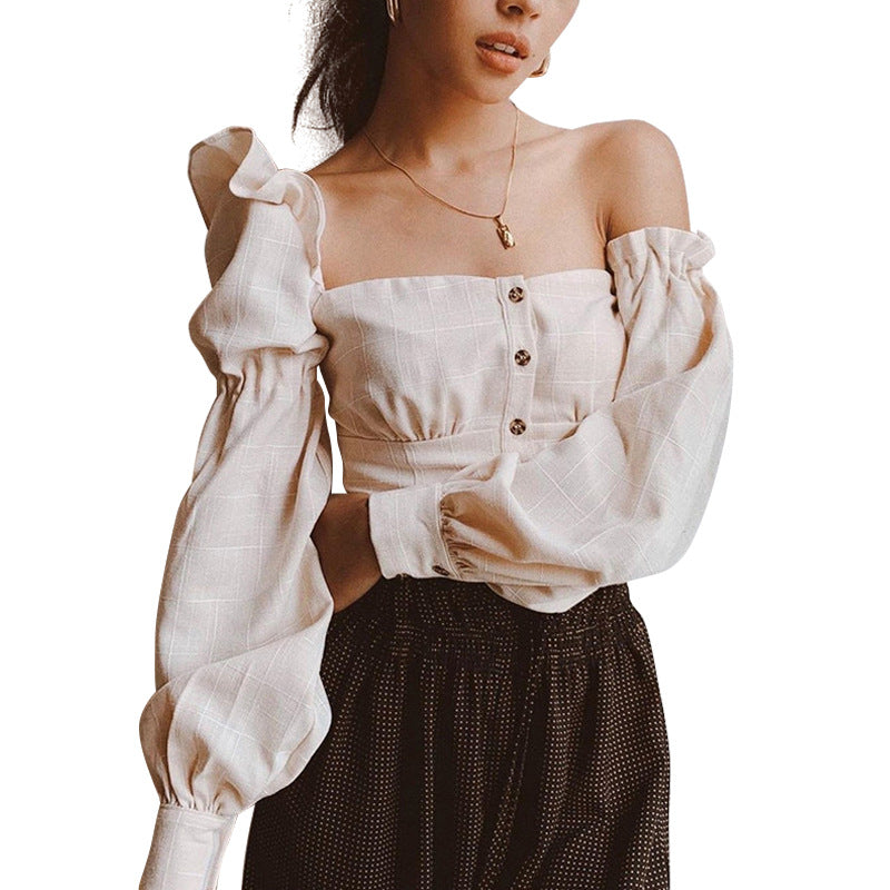 Kimberly Long Sleeve Off Shoulder
