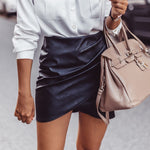 Neve Leather Skirt