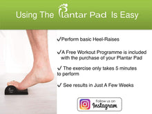 Load image into Gallery viewer, Plantar Pad (Plantar Fasciitis Relief)