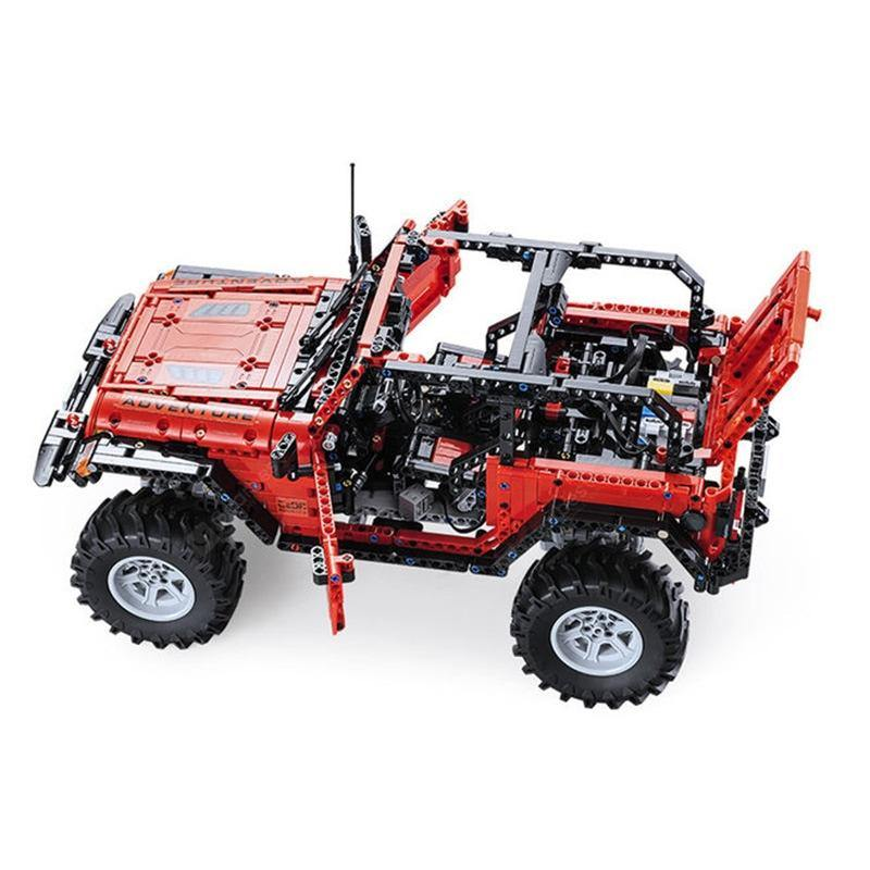 CaDA Bricks Off-road Car Adventurer | C61006W - Doublee_CaDA