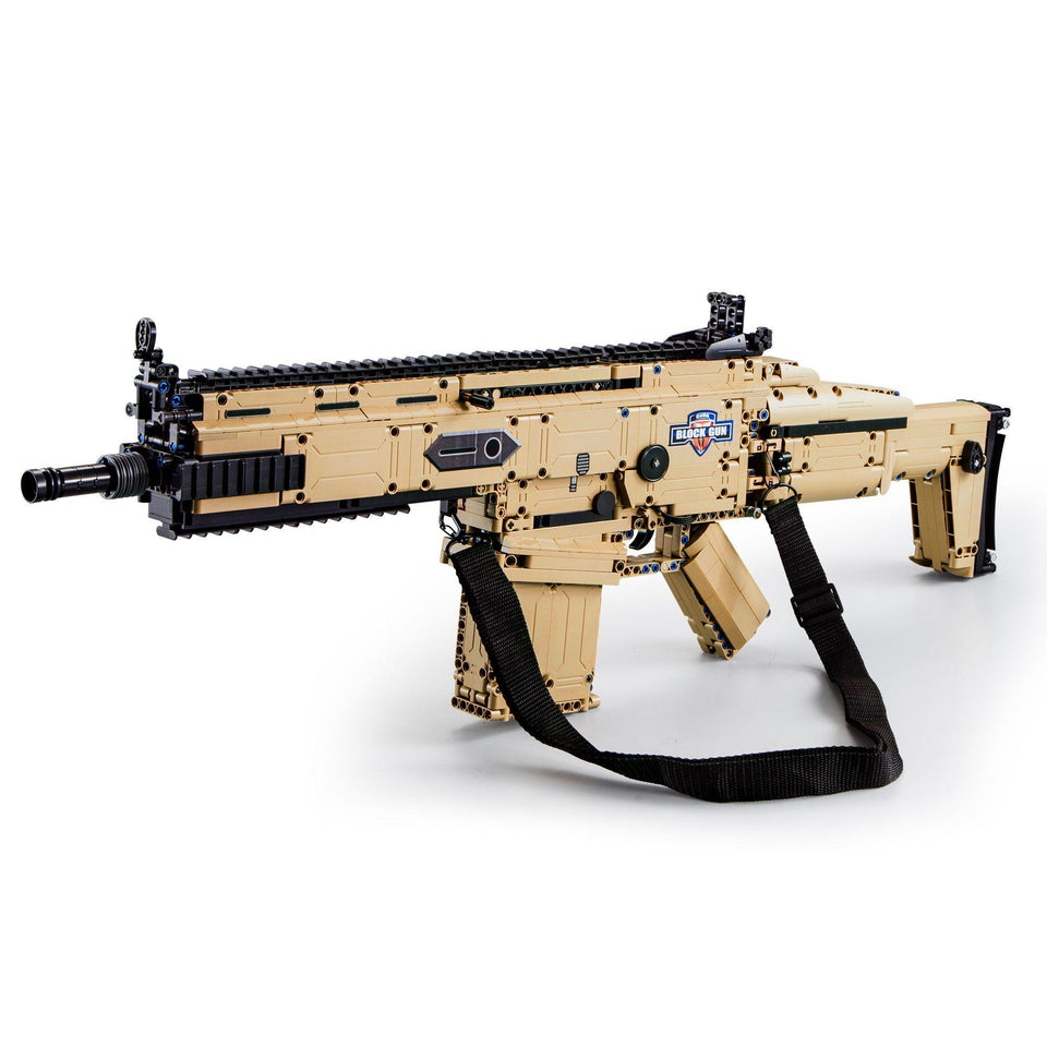 CaDA Bricks Assault Rifle | C81021W / C81022W - Doublee_CaDA