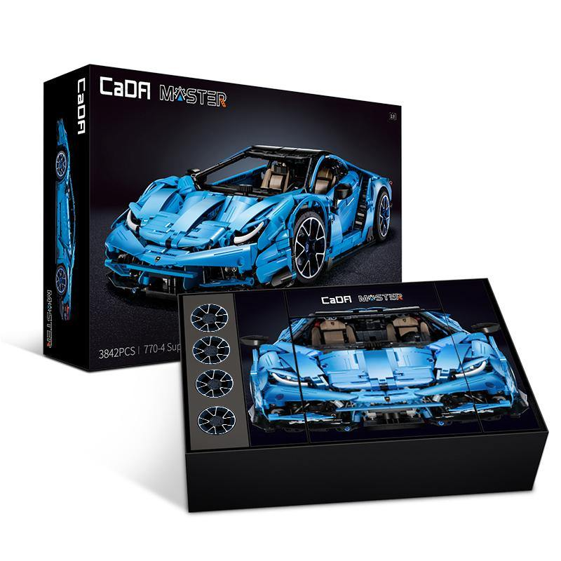 CaDA Bricks Master Series Moc Super Car | C61041W