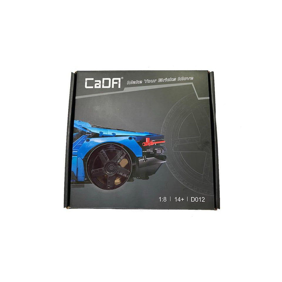 770-4 Blue Supercar Tire Upgrade Kit | D012 - Doublee_CaDA