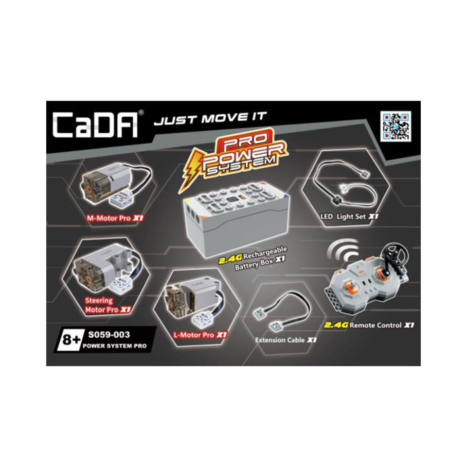 CaDA Pro Power System Pack | S059-003