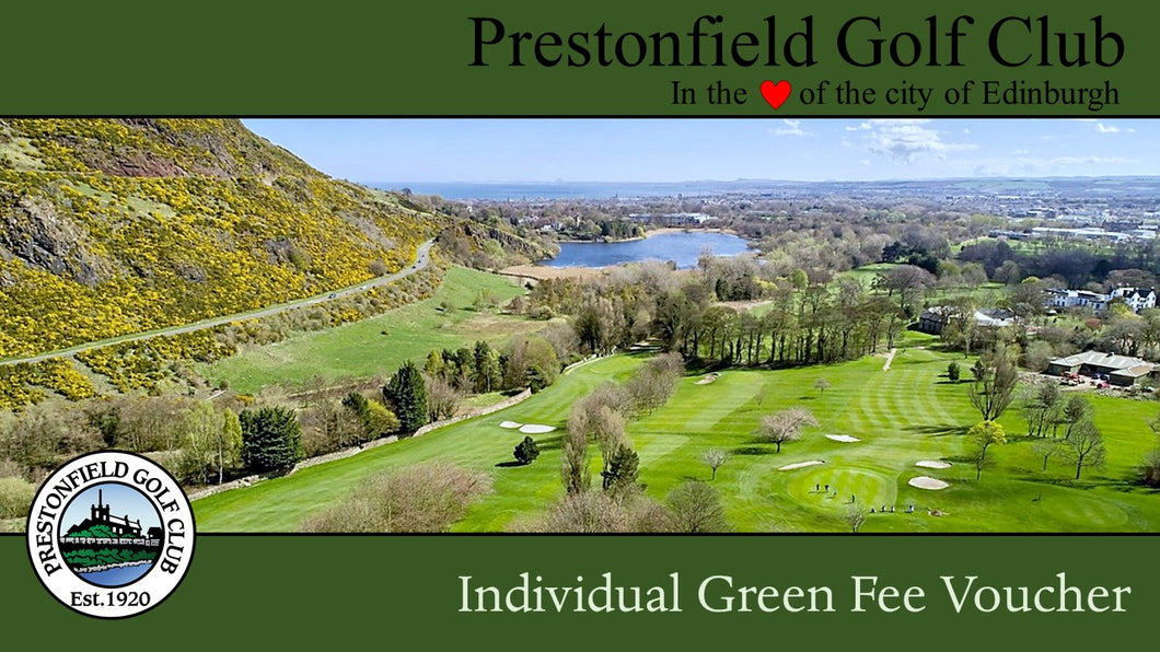 Individual Green Fee Voucher