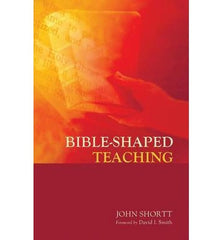 Bible-Shaped Teaching