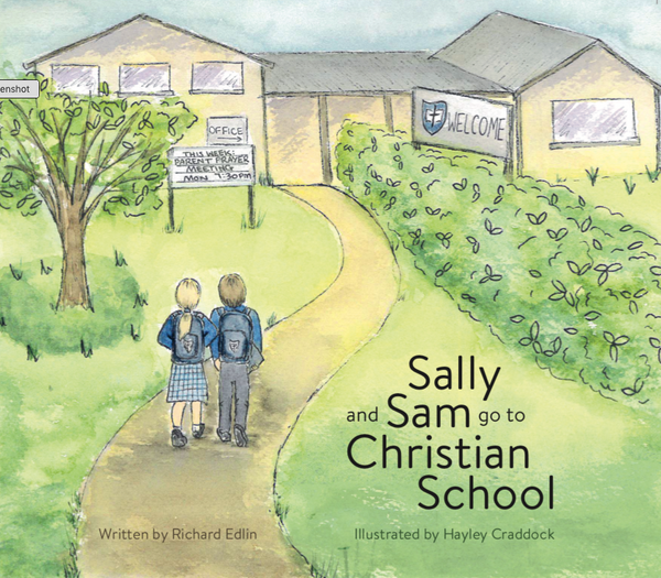 Sally and Sam go to Christian School