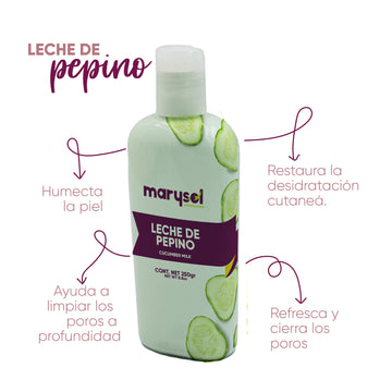 Leche De Pepinos Post-depilatorio 250 ml Marysol