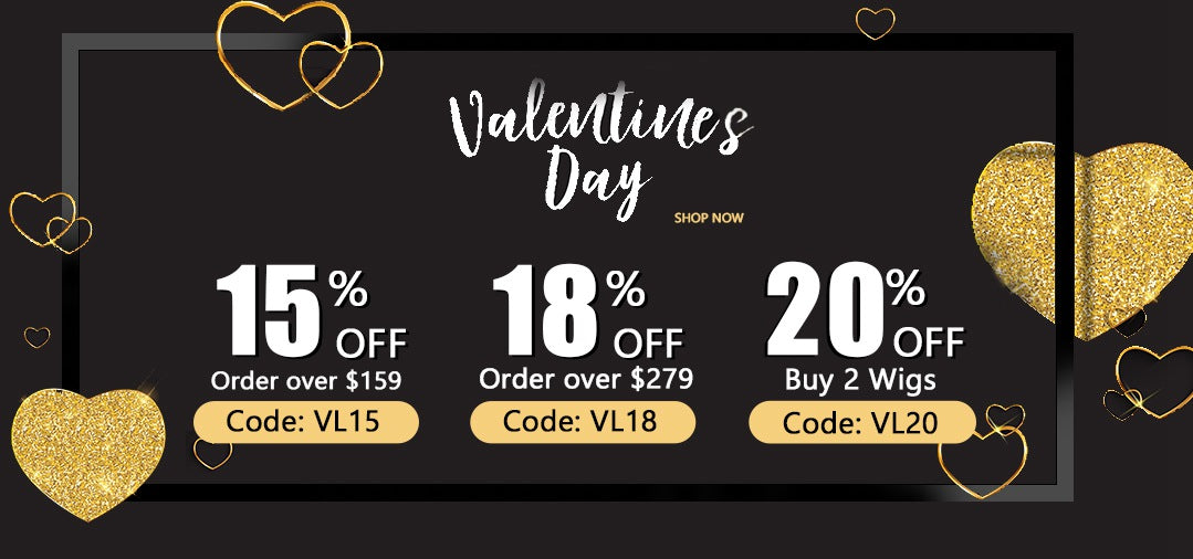 2021 Valentine's Day Best Human Hair Must Have Wig