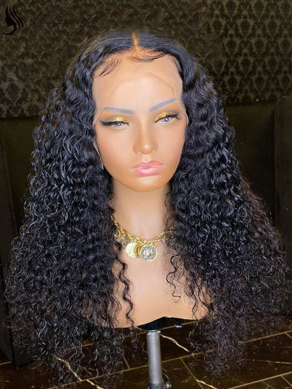 2020 New No Glue Curly Best Virgin Hair Full Lace Wigs [ULWIGS84] - ULwigs