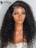Glueless Thick Curly Virgin Human Hair Full Lace Wig [ULWIGS71] - ULwigs