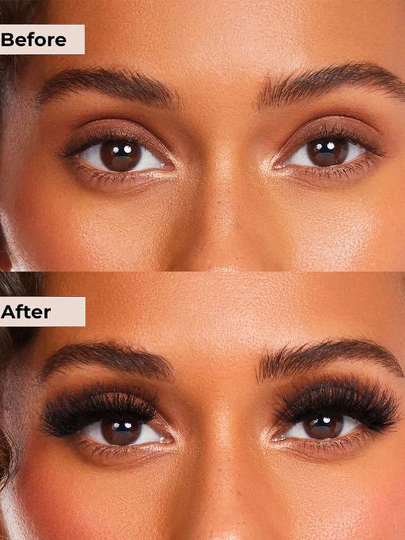 HOLLYWOOD Real 3D Mink Eyelashes Makeup False Lashes