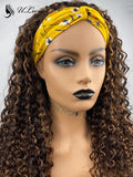 Mix Color Curly High Density Headband Wig (Get Free Trendy Headbands) ULWIGS160