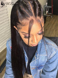 HD Lace Silky Straight Long Hair 360 Lace Wig With Single Knots [ULWIGS54] - ULwigs