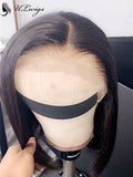ULWIGS Glueless Summer Bob Wig 150% Density Lace Front Human Hair Wig With Bleached Knots For Black Women SM05