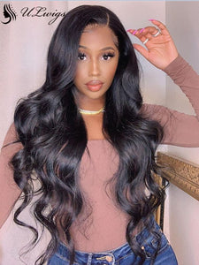 Undetectable Lace Body Wave 13*6 Lace Front Wig With Pre-plucked Hairline [ULwigs01] - ULwigs