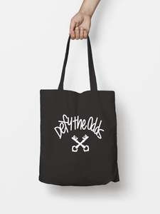 Black Premium Stitch Tote Bag