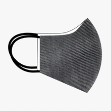 Load image into Gallery viewer, Premium Stitch Charcoal Grey Denim Mask