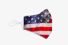 Load image into Gallery viewer, Vintage American Flag Face Mask