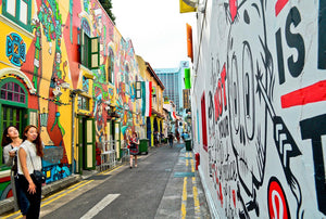 Saris, Sultans & Shophouses: Little India & Kampong Glam (Tour price based on group of 5 person)