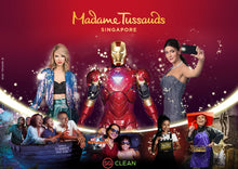 Load image into Gallery viewer, Madame Tussaud OR 4D Adventureland Admission Ticket PLUS Set Meal at Good Old Days