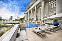 Load image into Gallery viewer, FULLERTON HOTEL  l Premier Courtyard l   2 Persons l Tea Experience at Fort Sanctuary @ Esplanade OR Cocktail@ Lavo