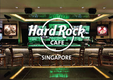 Load image into Gallery viewer, HILTON SINGAPORE l 2D1N l 2 Persons l Set Lunch at Hard Rock Cafe PLUS Limited Edition HRC Souvenir